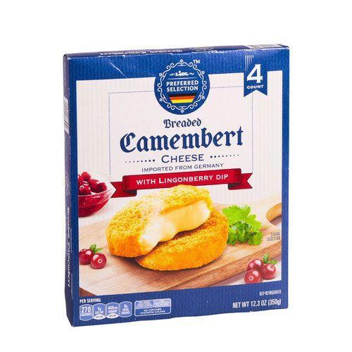 <p>Yes, more cheese...but who's counting? This is another German import. It comes with a lingonberry dip which perfectly complements the nutty, buttery flavor of the Camembert.</p>