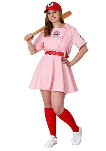 """<p><strong>Fun Costumes</strong></p><p>amazon.com</p><p><strong>$69.99</strong></p><p><a href=""""https://www.amazon.com/dp/B00NYD6VEY?tag=syn-yahoo-20&ascsubtag=%5Bartid%7C10072.g.28615520%5Bsrc%7Cyahoo-us"""" rel=""""nofollow noopener"""" target=""""_blank"""" data-ylk=""""slk:SHOP NOW"""" class=""""link rapid-noclick-resp"""">SHOP NOW</a></p><p>Hit it out of the park with a costume that shows off what a fearless independent woman you are. </p>"""