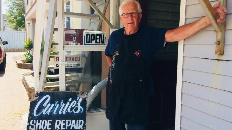 Meet Dave Currie, the 79-year-old cobbler with no plans to retire