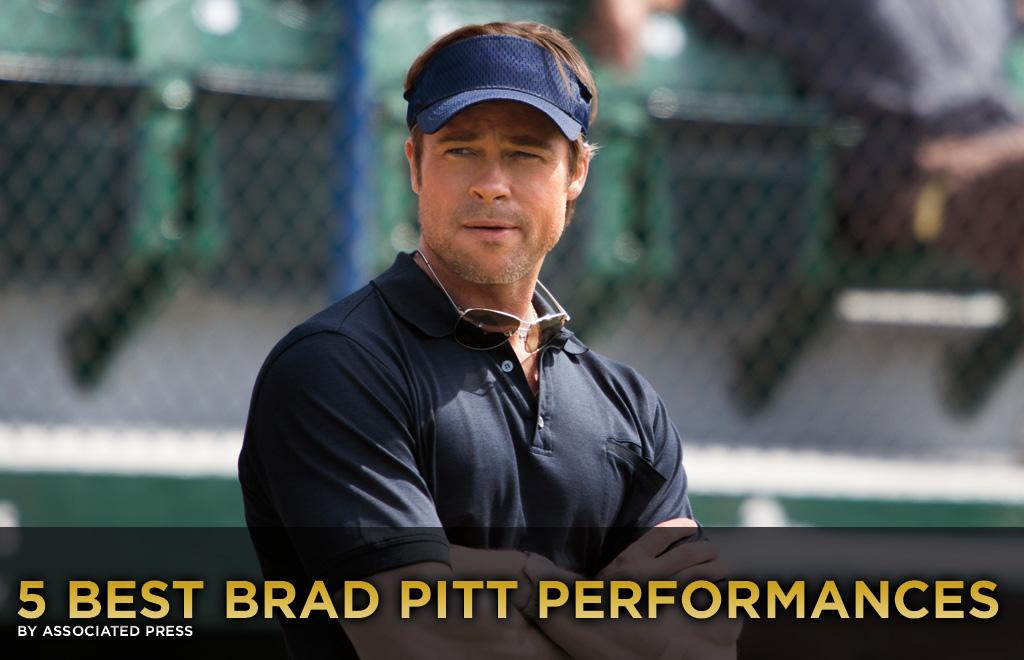 """Choosing Brad Pitt's five best performances was tough, but getting a chance to look back on his career was a joy.   Ever since his breakout role as the sexy and mysterious drifter J.D. in """"Thelma & Louise"""" (1991), Pitt has repeatedly proven that he's so much more than just a pretty face. He's shown a knack for choosing meaty, intelligent films and working with the most respected directors, which has allowed him to explore every facet of his versatile talent.   This week he stars in """"Moneyball"""" as Oakland A's general manager Billy Beane, a role that lets him be both charismatic and vulnerable. It's some of his best work; <a href=""""http://movies.yahoo.com/news/5-best-brad-pitt-performances-213432283.html"""">here are five other examples:</a>"""