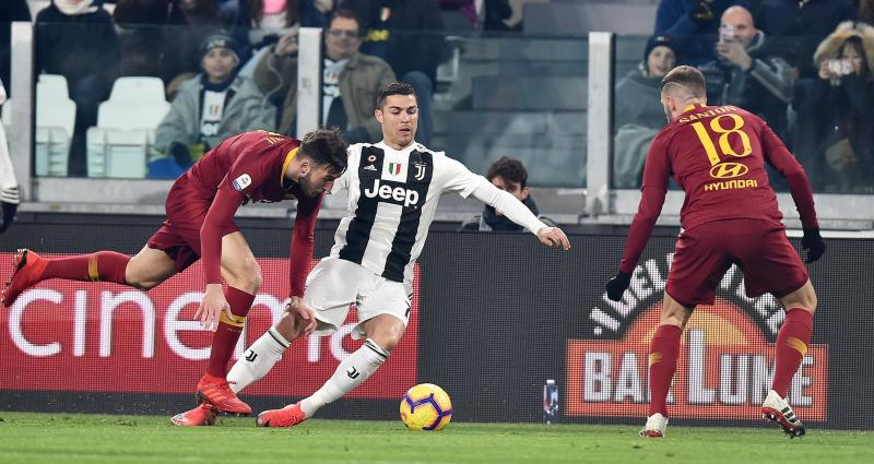 Juventus 1-0 Roma: Champions win to go eight points clear