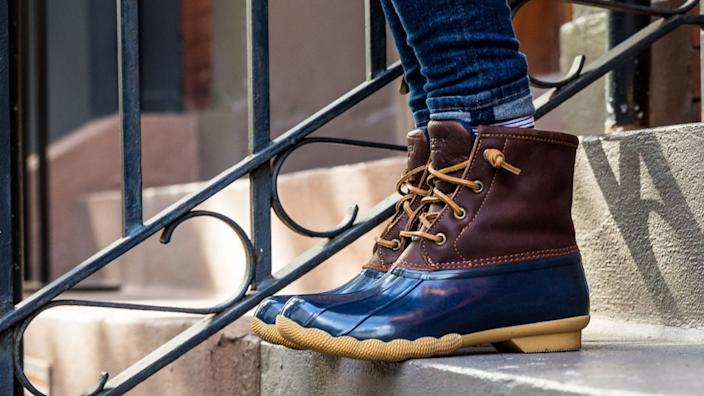 Sperry boots are a winter favorite—and they're up for grabs at a huge discount.