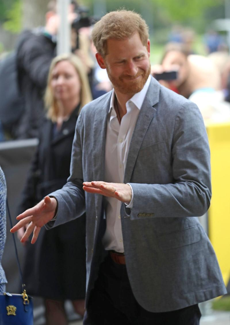 Prince Harry arrives in the Hague (Chris Jackson/Getty Images)