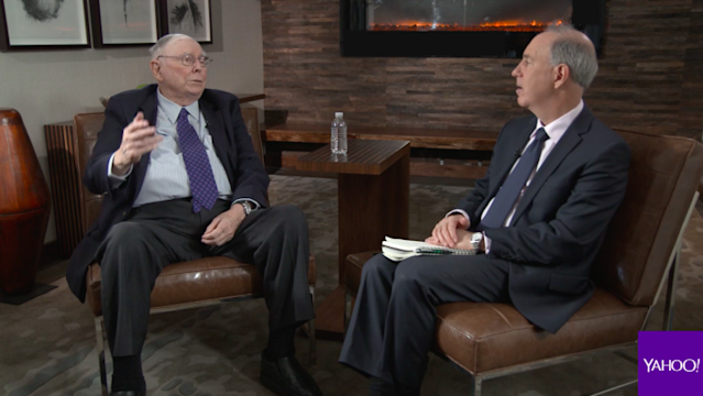 Charlie Munger and Andy Serwer