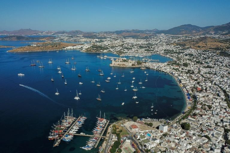 The Turkish city of Bodrum has been hit hard by tourists staying away due to the pandemic