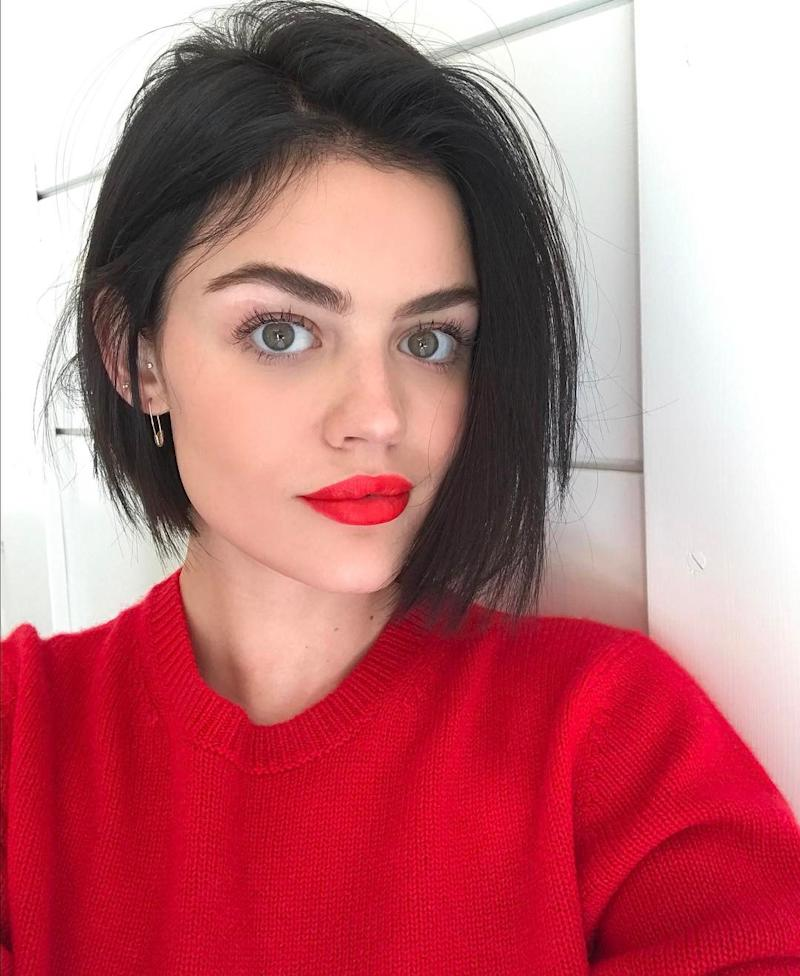 Lucy Hale Says She Might Shave Her Head