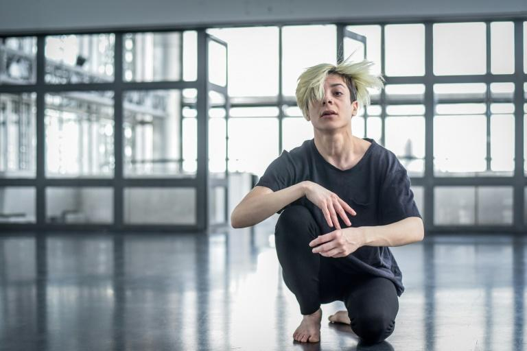 Syrian dancer Yara al-Hasbani regularly draws inspiration from the conflict at home for her choreography