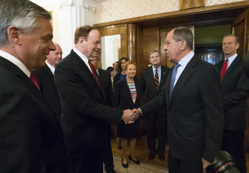 US congressmen meet Russian officials in St. Petersburg