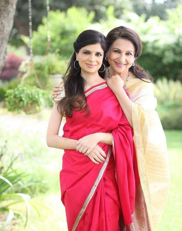 Saba Ali Khan and Sharmila Tagore