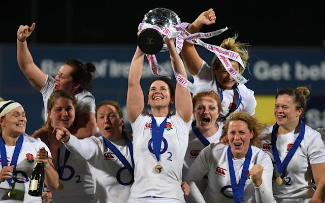 England women won their first Grand Slam in five years - 2017 Getty Images