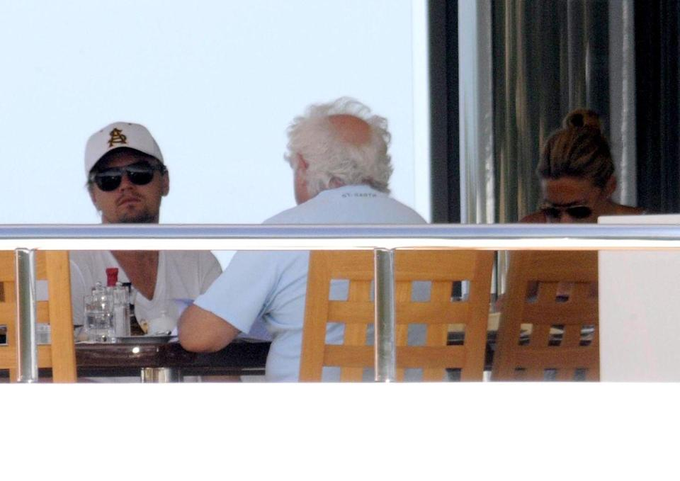 <p>Your boo boo Leo DiCaprio is over this charming yacht brunch.</p>