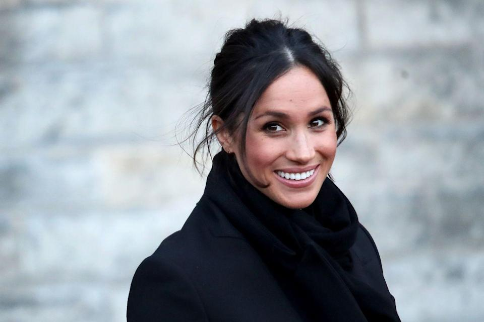"""<p>""""Meghan Markle's fitness definitely takes priority; she's very focused on her health,"""" Meghan's trainer, Craig McNamee, CSCS, founder of <a href=""""http://www.catalyst-health.ca/index.php"""" rel=""""nofollow noopener"""" target=""""_blank"""" data-ylk=""""slk:Catalyst Health"""" class=""""link rapid-noclick-resp"""">Catalyst Health</a> in Toronto, Canada, told <a href=""""https://www.womenshealthmag.com/fitness/a19745816/meghan-markle-workout/"""" rel=""""nofollow noopener"""" target=""""_blank"""" data-ylk=""""slk:WomensHealthMag.com"""" class=""""link rapid-noclick-resp"""">WomensHealthMag.com</a> in 2018. """"When she gets to the gym, there's no real complaining. She gets down to business right away and really enjoys it."""" (Another reason the royal is #goals.)</p>"""