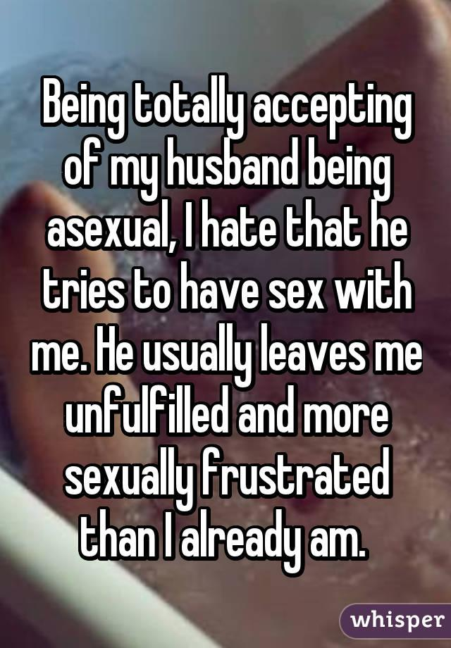 I hate sex with my husband