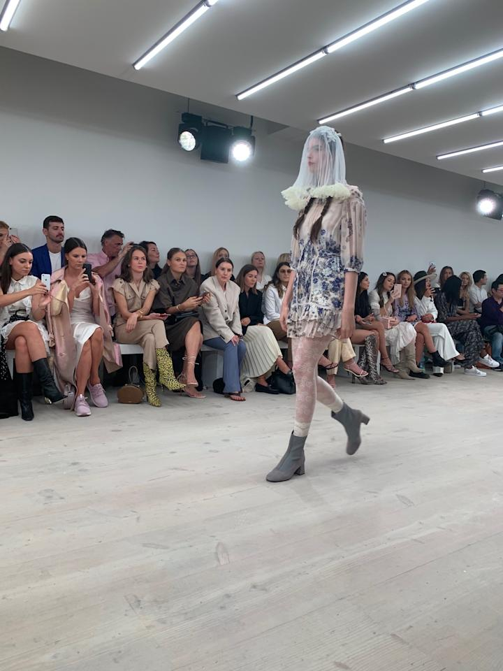 London Fashion Week: Bora Aksu Spring Summer 2020. (PHOTO: Reta Lee/Yahoo Lifestyle Singapore)