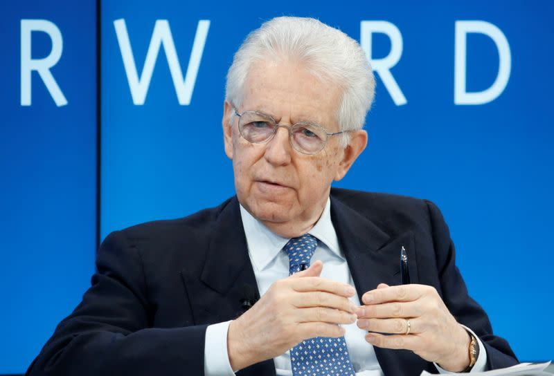 FILE PHOTO: Monti President of Bocconi University attends the WEF annual meeting in Davos