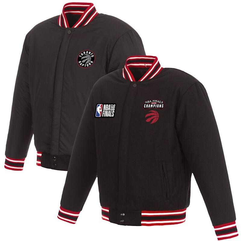 Raptors 2019 NBA Finals Champions Wool Jacket