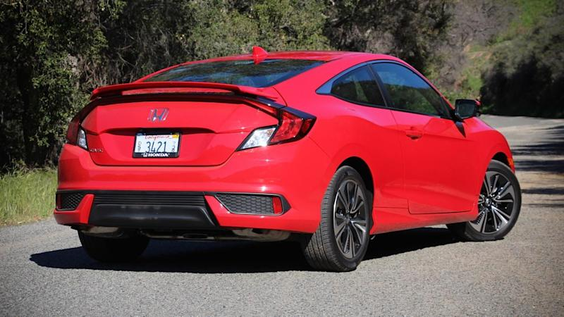2016 honda civic coupe first drive. Black Bedroom Furniture Sets. Home Design Ideas