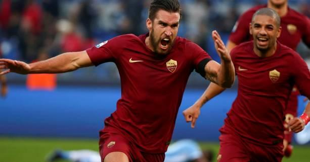 Foot - ITA - Roma : Kevin Strootman suspendu deux matches pour son plongeon