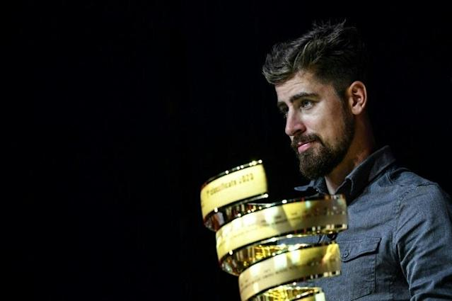 Ex-world champion Peter Sagan had been expected to compete for the first time in the 2020 Giro d'Italia (AFP Photo/Marco Bertorello)