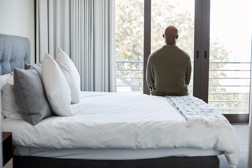 There are some steps you can take to ease feelings of loneliness including making your bed. (Posed by model, Getty Images)