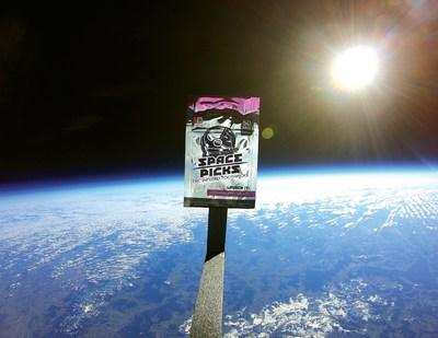 SPACE PICKS™ FIRST TO LAUNCH CANNABIS INTO OUTER SPACE