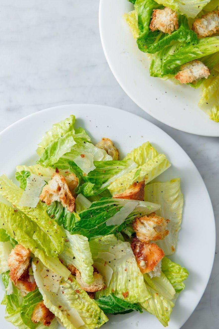 """<p>A classic any time of year.</p><p>Get the recipe from <a href=""""https://www.delish.com/cooking/recipe-ideas/a19695267/best-caesar-salad-recipe/"""" rel=""""nofollow noopener"""" target=""""_blank"""" data-ylk=""""slk:Delish"""" class=""""link rapid-noclick-resp"""">Delish</a>.</p>"""
