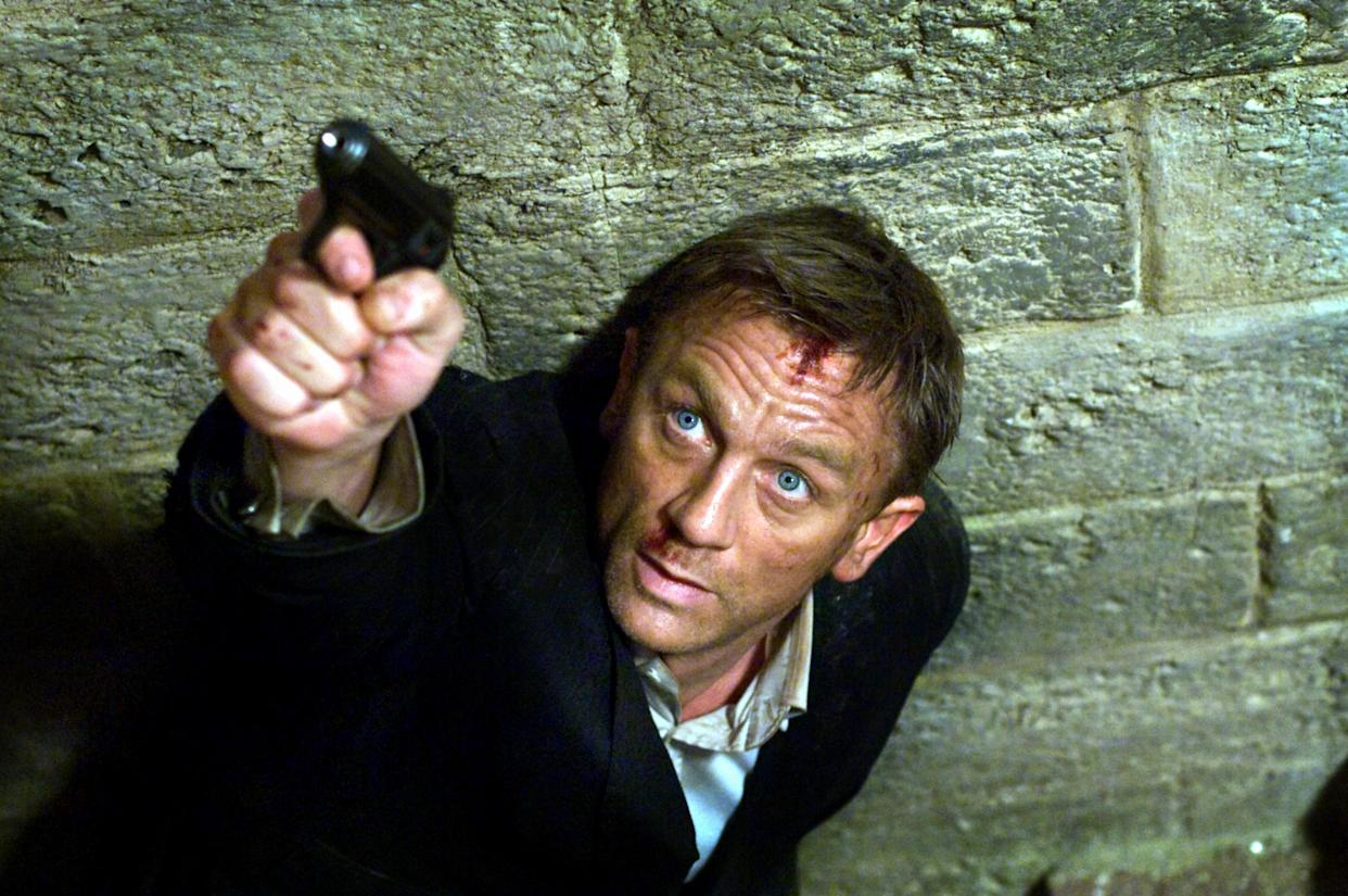 Craig in his second James Bond film, 2008's Quantum of Solace (Photo: MGM/courtesy Everett Collection)