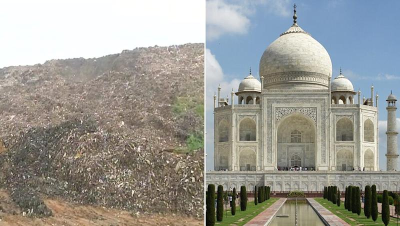 After Qutub Minar, Ghazipur Garbage Dump, Tallest Rubbish Mountain in India's Capital May Rise Above Taj Mahal!