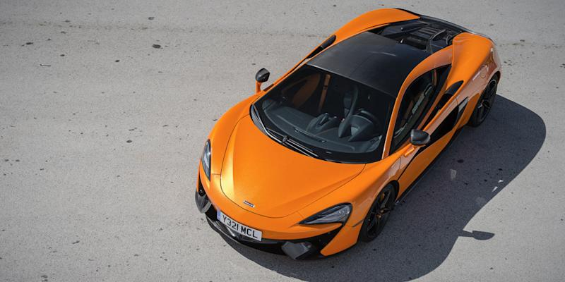 The next mclaren 570s could get hybrid v6 power for Abc motor credit gilchrist rd