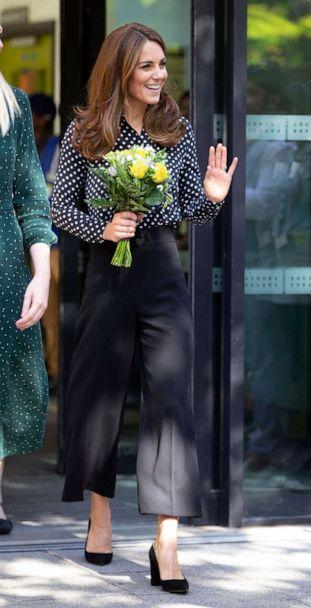 PHOTO: Catherine, Duchess of Cambridge visits Sunshine House Children and Young People's Health and Development Centre, Sept. 19, 2019 in London. (Ian Vogler/Wpa Pool/Getty Images)