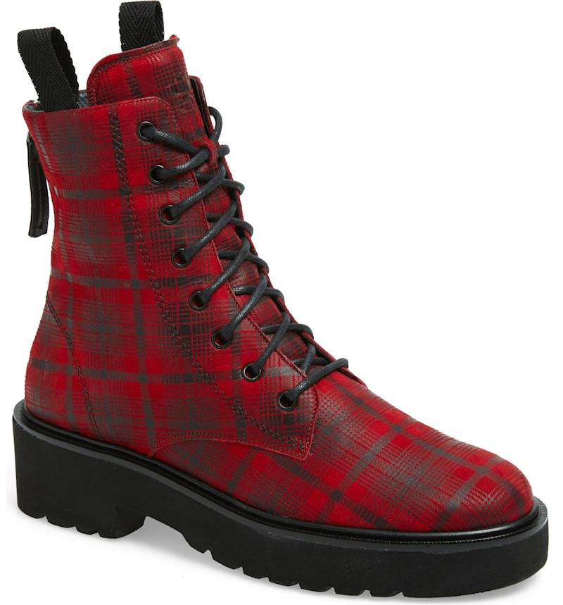 PAUL GREEN Bronx Lace-Up Platform Boot