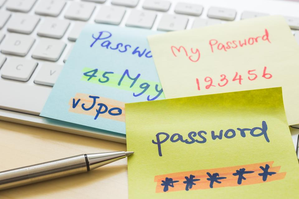 Stop using easy-to-guess passwords, and other tips for safer web use. (Photo:Getty)