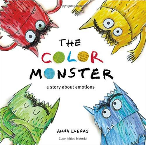 """""""The Color Monster: A Story About Emotions,"""" by Anna Llenas (Amazon / Amazon)"""