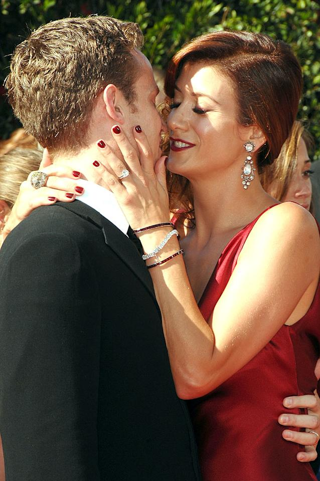 """Alex Young and <a href=""""/kate-walsh/contributor/1062641"""">Kate Walsh</a> arrives at the <a href=""""/the-59th-annual-primetime-emmy-awards/show/41371"""">59th Annual Primetime Emmy Awards</a> at the Shrine Auditorium on September 16, 2007 in Los Angeles, California."""