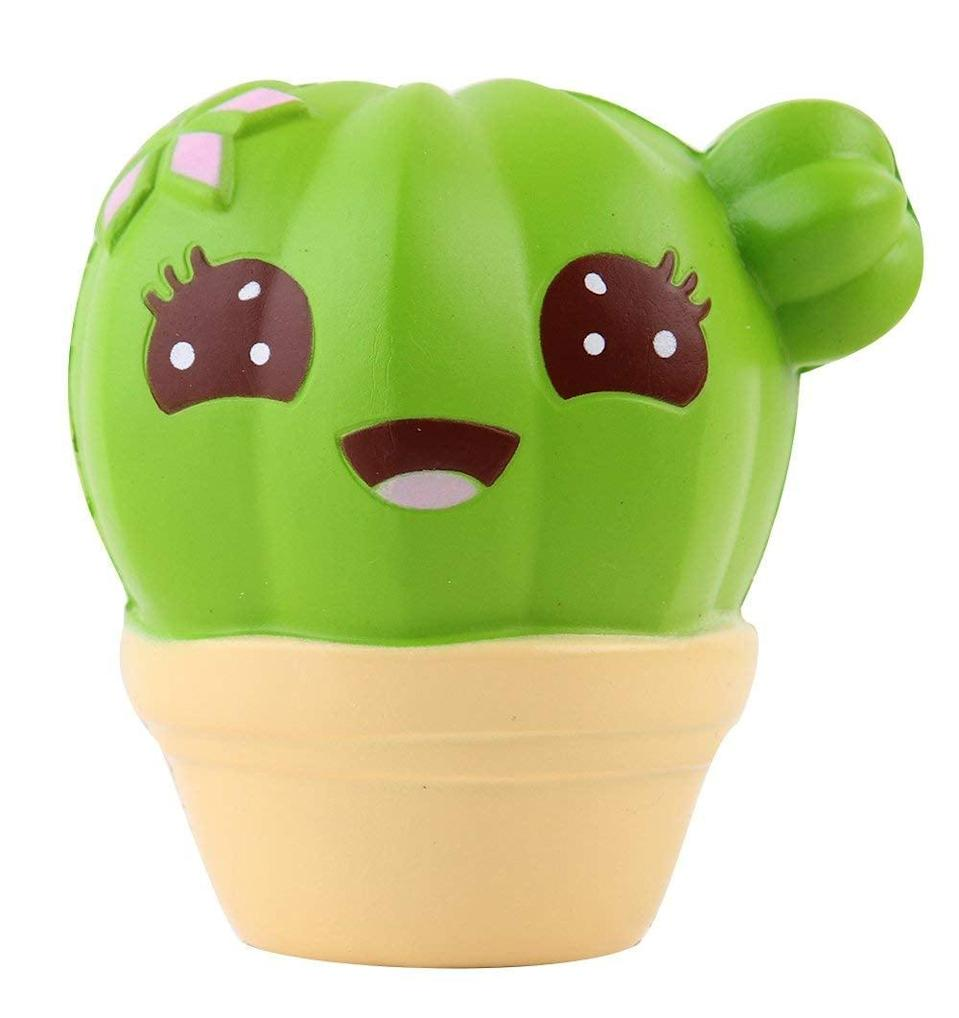 <p>This <span>Cactus Squishy</span> ($9) is the stress relief we needed.</p>