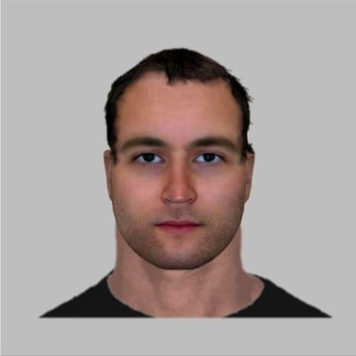 Photofit of a man suspected of attacking the director of an animal shelter after mutilating a horse and two ponies on August 24 in Burgundy - French Gendarmerie
