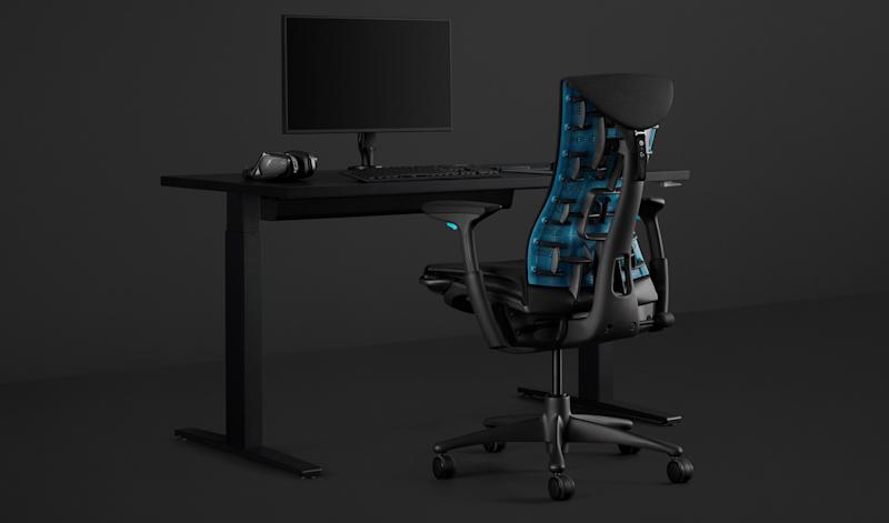 Logitech and Herman Miller made a $1495 gaming chair