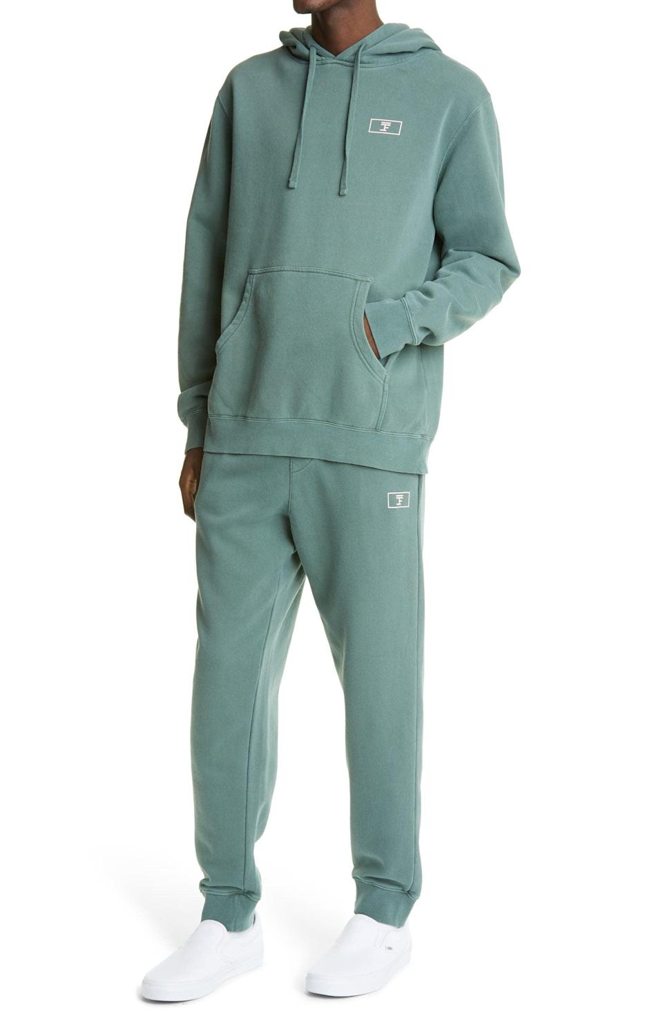 <p>The sweatsuit still reigns supreme, and this <span>Full Court Sport Logo Cotton Hoodie</span> ($65) and <span>Joggers</span> ($70) is one worth wearing.</p>