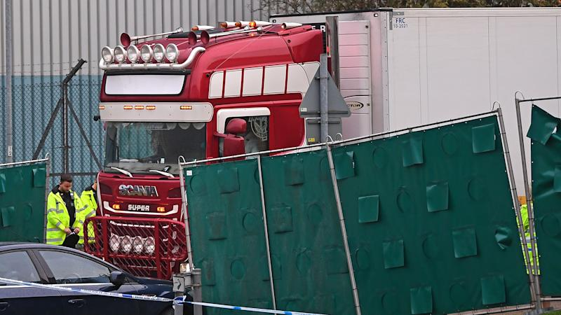 Man, 23, charged in probe into lorry container migrant deaths