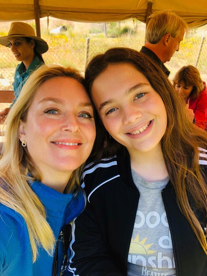 "The <em>Bombshell</em> actress's favorite way to vacation with 11-year-old daughter Easton? Hitting the road and getting back to nature.   ""One of the most fun ways to travel that's super easy for parents and kids is glamping!"" she tells PEOPLE. ""I'm all for packing up the car and going to a beautiful cabin in the woods and keeping things really simple. I like to find affordable excursions that are close and include everything, accommodations, food, and activities.""   Her current favorite spot is <a href=""https://www.paliretreat.com/"">Pali Mountain Retreat</a> near Lake Arrowood, California. ""We're going up for Spring Break and Mother's Day weekend!"""