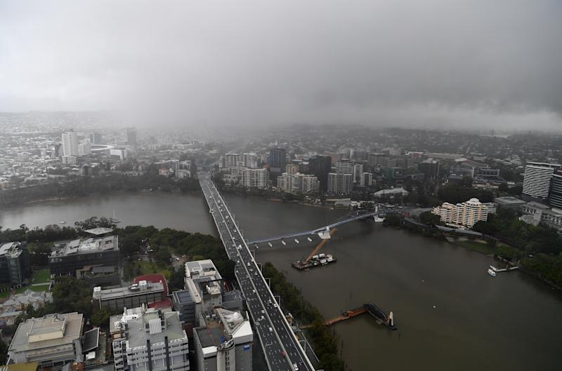 Brisbane is set to be hit by storms this week, while the heaviest rain will fall in the north of Queensland. Source: AAP