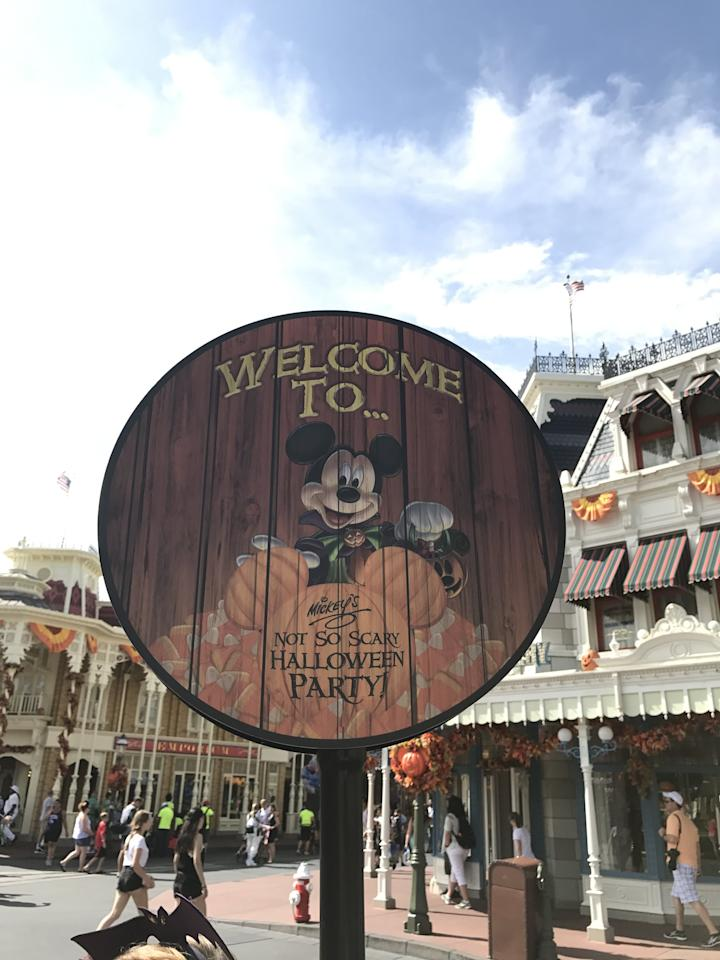 "<p>Mickey's Not-So-Scary <a class=""sugar-inline-link ga-track"" title=""Latest photos and news for Halloween"" href=""https://www.popsugar.com/Halloween"" target=""_blank"" data-ga-category=""Related"" data-ga-label=""https://www.popsugar.com/Halloween"" data-ga-action=""&lt;-related-&gt; Links"">Halloween</a> Party takes place at the Magic Kingdom from Aug. 16 until November 1. Party tickets range from $79 on weeknights to $135 on Halloween (there are annual passholder and Disney Vacation Club discounts available). The party starts at 7 p.m. and goes until the strike of midnight!</p>"