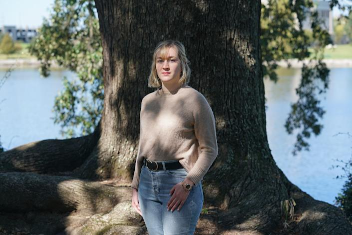 Elisabeth Andries, a junior at Louisiana State University studying industrial engineering, says she was sexually assaulted by a fraternity member on a bus trip. After she reported the incident to the university, her Title IX case dragged out and she was not given accommodations to avoid classes with the man she accused.