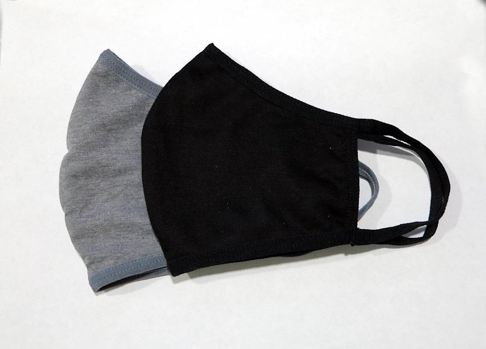 <p>This <span>Soft Three Layer Handmade Fitted Breathable Face Mask</span> ($4) is comfortable and protective.</p>