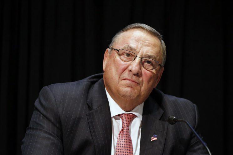 In this June 7, 2016, file photo, Maine Gov. Paul LePage attends an opioid abuse conference in Boston. (Photo: Michael Dwyer/AP)