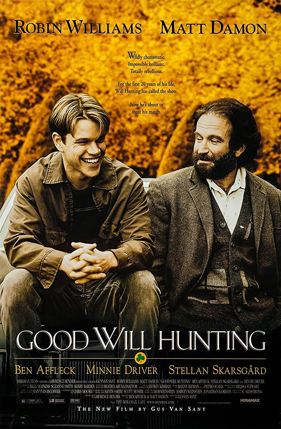 """<p>The late <strong>Robin Williams</strong> plays therapist Sean Maguire, who mentors Will Hunting (<strong>Matt Damon</strong>), an unassuming genius. After Will gets in trouble for attacking a police officer, Sean teaches Will valuable life lessons. We guarantee you'll experience all sorts of emotions while watching this film.</p><p><a class=""""link rapid-noclick-resp"""" href=""""https://www.amazon.com/Good-Will-Hunting-Ben-Affleck/dp/B006RXPT82/ref=sr_1_2?dchild=1&keywords=GOOD+WILL+HUNTING&qid=1596922850&sr=8-2&tag=syn-yahoo-20&ascsubtag=%5Bartid%7C10055.g.33513354%5Bsrc%7Cyahoo-us"""" rel=""""nofollow noopener"""" target=""""_blank"""" data-ylk=""""slk:WATCH NOW"""">WATCH NOW</a></p>"""