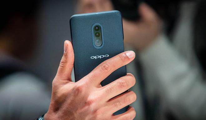 Oppo grew to become the fifth largest global smartphone brand with its strong presence in lower-tier Chinese cities and developing markets including Southeast Asia. Photo: Bloomberg