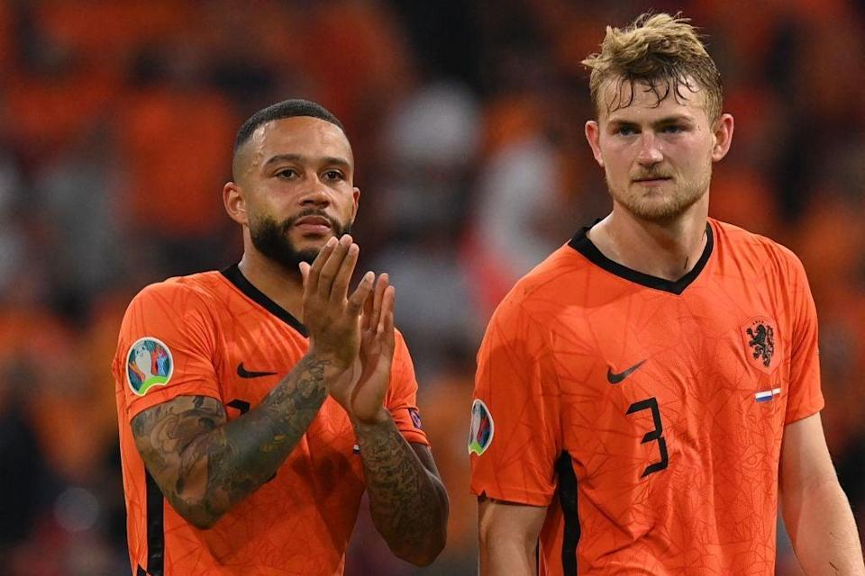 The Netherlands have arguably been the Euros' most entertaining team so far (POOL/AFP via Getty Images)