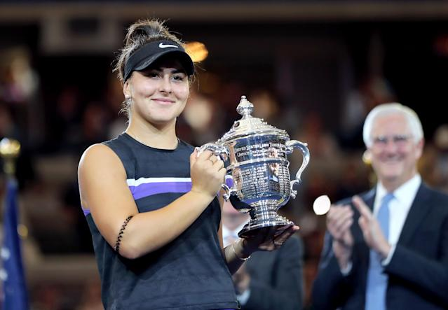 Bianca Andreescu's US Open win could be the first of many. (Photo by Elsa/Getty Images)