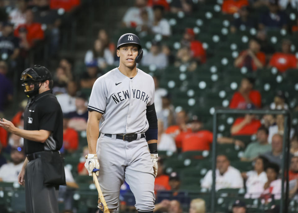New York Yankees right fielder Aaron Judge and his teammates need a second-half turnaround. (Photo by Leslie Plaza Johnson/Icon Sportswire via Getty Images)